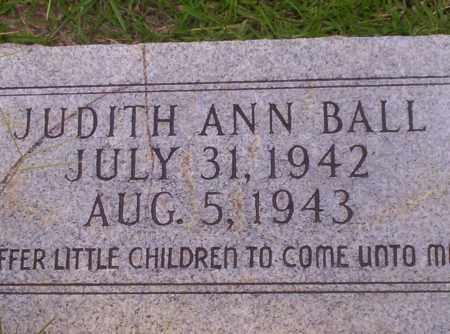 BALL, JUDITH ANN - Union County, Arkansas | JUDITH ANN BALL - Arkansas Gravestone Photos