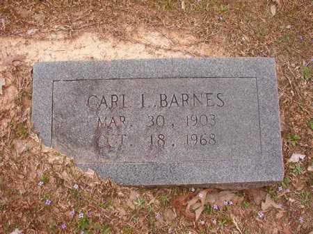 BARNES, CARL L - Union County, Arkansas | CARL L BARNES - Arkansas Gravestone Photos