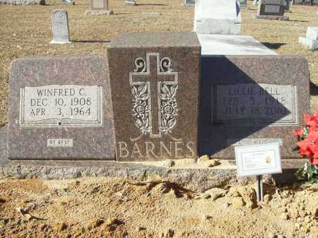 BARNES, WINFRED C - Union County, Arkansas | WINFRED C BARNES - Arkansas Gravestone Photos