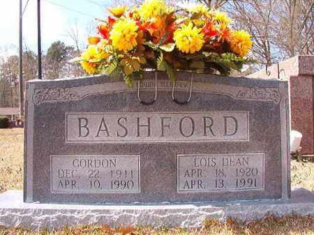 DEAN BASHFORD, LOIS - Union County, Arkansas | LOIS DEAN BASHFORD - Arkansas Gravestone Photos