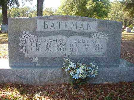 BATEMAN, TOMMIE - Union County, Arkansas | TOMMIE BATEMAN - Arkansas Gravestone Photos