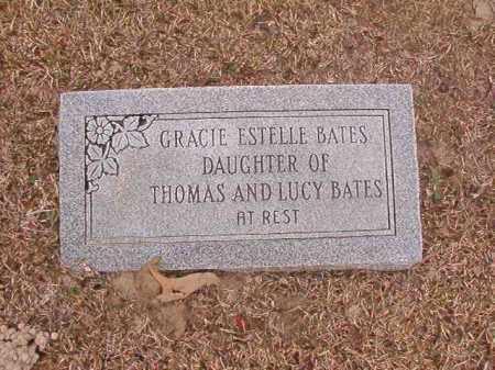 BATES, GRACIE ESTELLE - Union County, Arkansas   GRACIE ESTELLE BATES - Arkansas Gravestone Photos