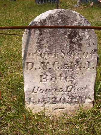BATES, INFANT SON - Union County, Arkansas | INFANT SON BATES - Arkansas Gravestone Photos