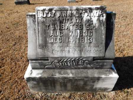 BATES, LUCY ANN - Union County, Arkansas | LUCY ANN BATES - Arkansas Gravestone Photos
