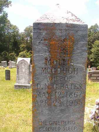 MCGOUGH BATES, MOLLIE - Union County, Arkansas | MOLLIE MCGOUGH BATES - Arkansas Gravestone Photos