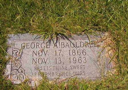 BAULDREE, GEORGE A - Union County, Arkansas | GEORGE A BAULDREE - Arkansas Gravestone Photos