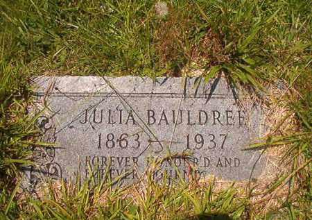 BAULDREE, JULIA - Union County, Arkansas | JULIA BAULDREE - Arkansas Gravestone Photos