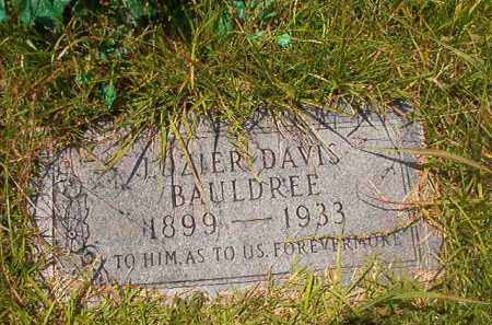 BAULDREE, LOZIER DAVIS - Union County, Arkansas | LOZIER DAVIS BAULDREE - Arkansas Gravestone Photos
