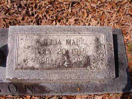 BENSON, JULIA MAE - Union County, Arkansas | JULIA MAE BENSON - Arkansas Gravestone Photos