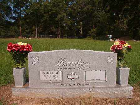 BENTON, SR (VETERAN), PRADIS L - Union County, Arkansas | PRADIS L BENTON, SR (VETERAN) - Arkansas Gravestone Photos