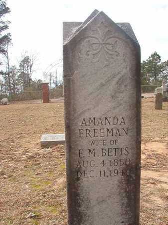 FREEMAN BETTS, AMANDA - Union County, Arkansas | AMANDA FREEMAN BETTS - Arkansas Gravestone Photos
