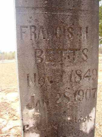 BETTS, FRANCIS M - Union County, Arkansas | FRANCIS M BETTS - Arkansas Gravestone Photos