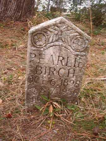 BIRCH, PEARLIE - Union County, Arkansas | PEARLIE BIRCH - Arkansas Gravestone Photos