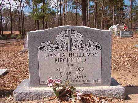 BIRCHFIELD, JUANITA - Union County, Arkansas | JUANITA BIRCHFIELD - Arkansas Gravestone Photos