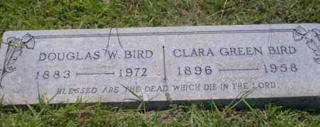 GREEN BIRD, CLARA - Union County, Arkansas | CLARA GREEN BIRD - Arkansas Gravestone Photos