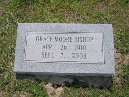 MOORE BISHOP, GRACE - Union County, Arkansas | GRACE MOORE BISHOP - Arkansas Gravestone Photos