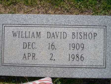 BISHOP, WILLIAM DAVID - Union County, Arkansas | WILLIAM DAVID BISHOP - Arkansas Gravestone Photos