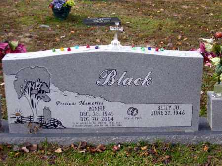 BLACK, RONNIE - Union County, Arkansas | RONNIE BLACK - Arkansas Gravestone Photos