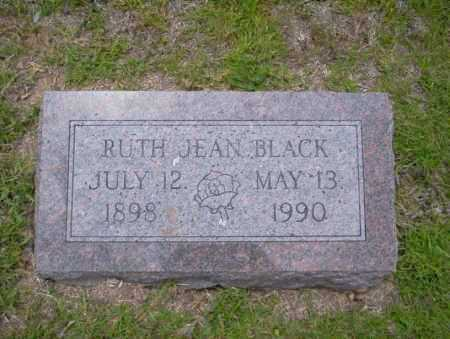 BLACK, RUTH JEAN - Union County, Arkansas | RUTH JEAN BLACK - Arkansas Gravestone Photos