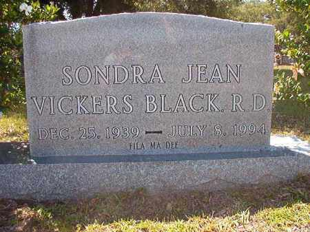 BLACK, SONDRA JEAN - Union County, Arkansas   SONDRA JEAN BLACK - Arkansas Gravestone Photos