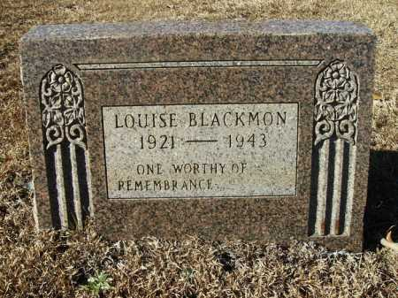 BLACKMON, LOUISE - Union County, Arkansas | LOUISE BLACKMON - Arkansas Gravestone Photos