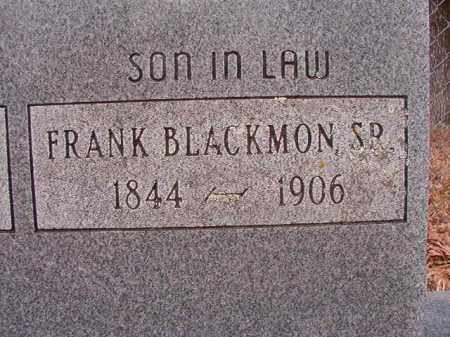 BLACKMON, SR, FRANK - Union County, Arkansas | FRANK BLACKMON, SR - Arkansas Gravestone Photos