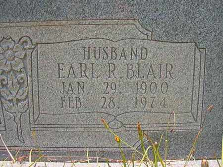 BLAIR, EARL R - Union County, Arkansas | EARL R BLAIR - Arkansas Gravestone Photos