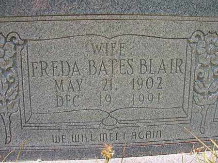 BLAIR, FREDA BATES - Union County, Arkansas | FREDA BATES BLAIR - Arkansas Gravestone Photos