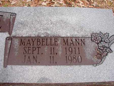 MANN BLEDSOE, MAYBELLE - Union County, Arkansas | MAYBELLE MANN BLEDSOE - Arkansas Gravestone Photos