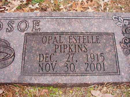 BLEDSOE, OPAL ESTELLE - Union County, Arkansas | OPAL ESTELLE BLEDSOE - Arkansas Gravestone Photos