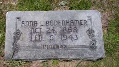 BODENHAMER, ANNA L. - Union County, Arkansas | ANNA L. BODENHAMER - Arkansas Gravestone Photos
