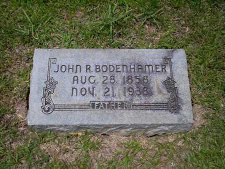 BODENHAMER, JOHN R - Union County, Arkansas | JOHN R BODENHAMER - Arkansas Gravestone Photos