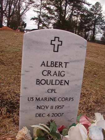 BOULDEN (VETERAN), ALBERT CRAIG - Union County, Arkansas | ALBERT CRAIG BOULDEN (VETERAN) - Arkansas Gravestone Photos