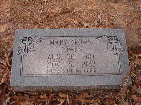 BOWEN, MARY - Union County, Arkansas | MARY BOWEN - Arkansas Gravestone Photos