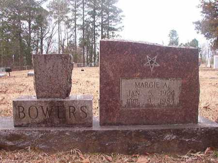 BOWERS, MARGIE A - Union County, Arkansas | MARGIE A BOWERS - Arkansas Gravestone Photos