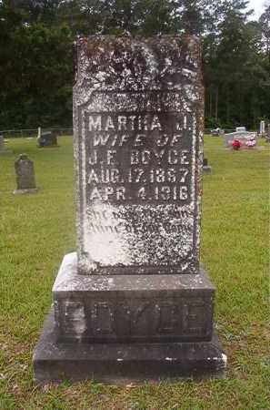 BOYCE, MARTHA J - Union County, Arkansas | MARTHA J BOYCE - Arkansas Gravestone Photos
