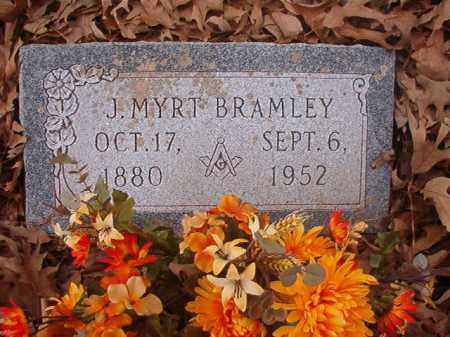 BRAMLEY, J MYRT - Union County, Arkansas | J MYRT BRAMLEY - Arkansas Gravestone Photos