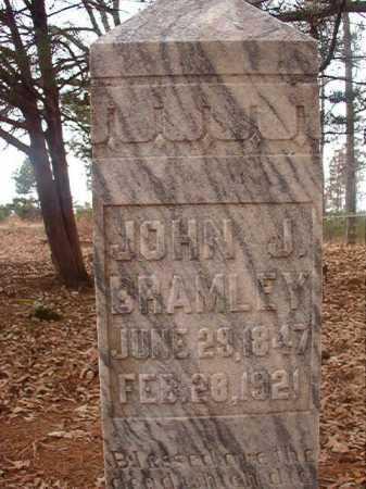 BRAMLEY, JOHN J - Union County, Arkansas | JOHN J BRAMLEY - Arkansas Gravestone Photos