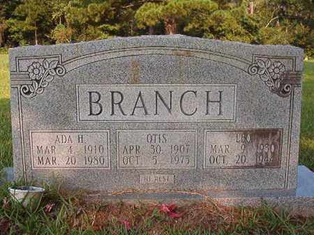 BRANCH, ADA H - Union County, Arkansas | ADA H BRANCH - Arkansas Gravestone Photos