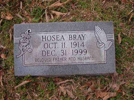BRAY, HOSEA - Union County, Arkansas | HOSEA BRAY - Arkansas Gravestone Photos