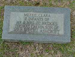 BRIDGES, METTIE - Union County, Arkansas | METTIE BRIDGES - Arkansas Gravestone Photos