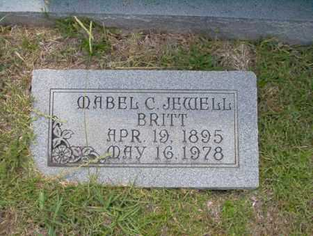 BRITT, MABLE C JEWELL - Union County, Arkansas | MABLE C JEWELL BRITT - Arkansas Gravestone Photos