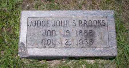 BROOKS, JUDGE JOHN S - Union County, Arkansas | JUDGE JOHN S BROOKS - Arkansas Gravestone Photos