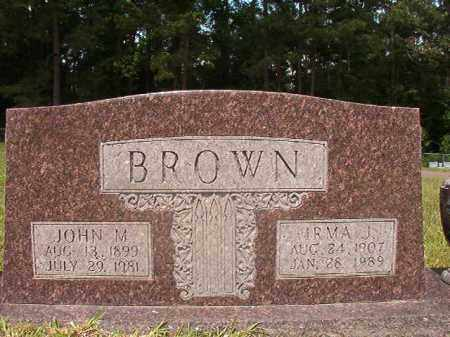 BROWN, JOHN M - Union County, Arkansas | JOHN M BROWN - Arkansas Gravestone Photos