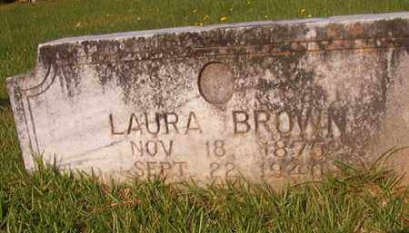 BROWN, LAURA - Union County, Arkansas | LAURA BROWN - Arkansas Gravestone Photos