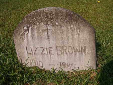 BROWN, LIZZIE - Union County, Arkansas | LIZZIE BROWN - Arkansas Gravestone Photos