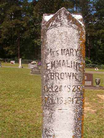 BROWN, MRS. MARY EMMALINE - Union County, Arkansas | MRS. MARY EMMALINE BROWN - Arkansas Gravestone Photos