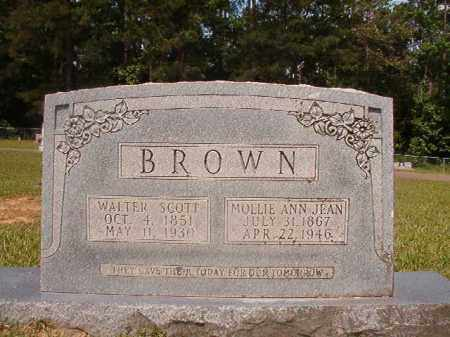 BROWN, WALTER SCOTT - Union County, Arkansas | WALTER SCOTT BROWN - Arkansas Gravestone Photos