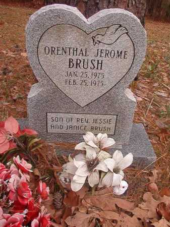 BRUSH, ORENTHAL JEROME - Union County, Arkansas | ORENTHAL JEROME BRUSH - Arkansas Gravestone Photos