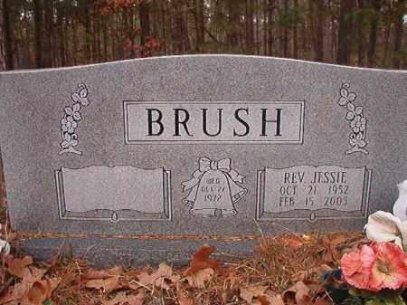 BRUSH, REV, JESSIE - Union County, Arkansas   JESSIE BRUSH, REV - Arkansas Gravestone Photos